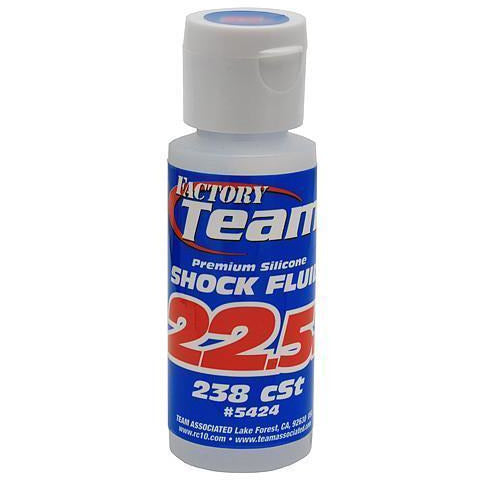 ASSOCIATED Silicone Shock Oil 22.5 Weight