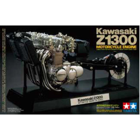 TAMIYA 1/6 Kawasaki Z1300 Motorcycle Engine (74-T16023)