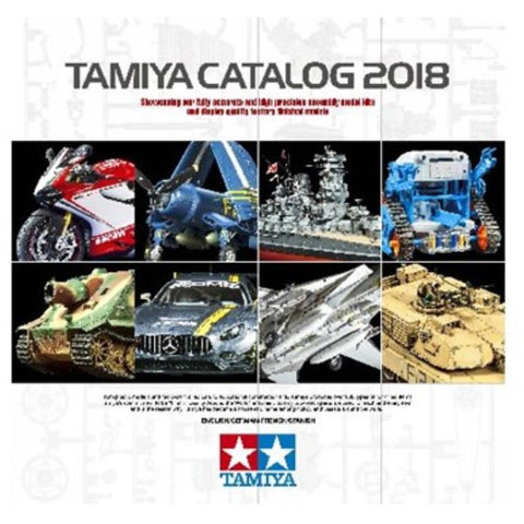 TAMIYA 2018 Catalogue 4 Language (74-T64413)