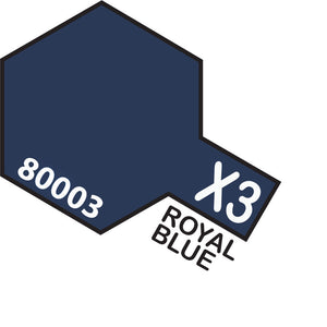 TAMIYA X-3 Royal Blue - Enamel