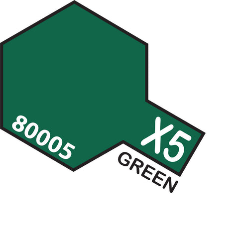 Image of TAMIYA X-5 GREEN - ENAMEL