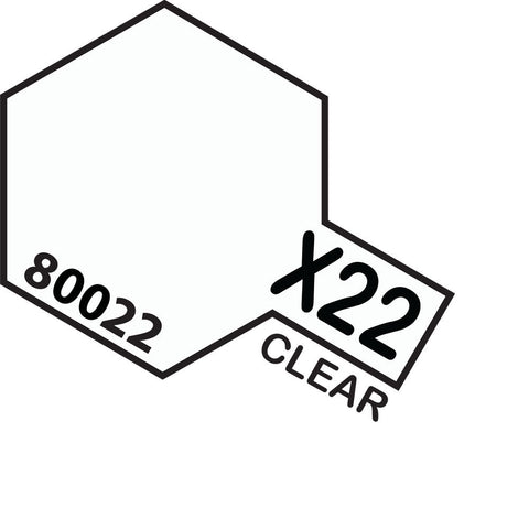 Image of TAMIYA X-22 CLEAR - ENAMEL