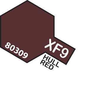 TAMIYA XF-9 HULL RED - ENAMEL
