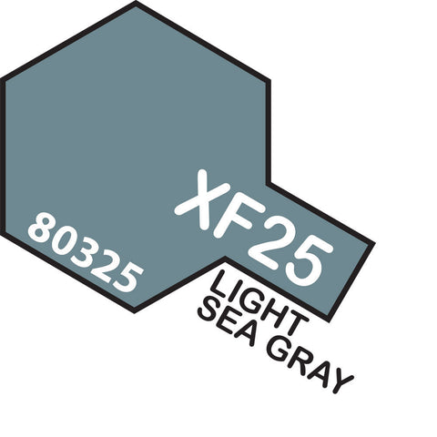 Image of TAMIYA XF-25 LIGHT SEA GREY - ENAMEL