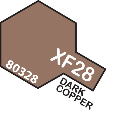 Image of TAMIYA XF-28 DARK COPPER - ENAMEL