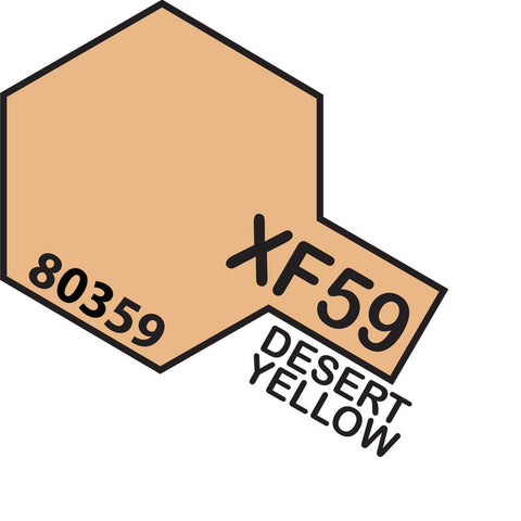 Image of TAMIYA XF-59 Desert Yellow - Enamel