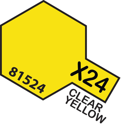 TAMIYA Acrylic X-24 CLEAR YELLOW