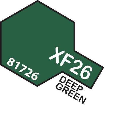 Image of TAMIYA Acrylic XF-26 DEEP GREEN