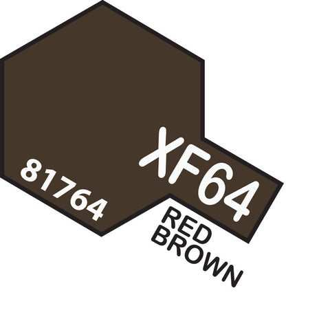 Image of TAMIYA Acrylic XF-64 RED BROWN