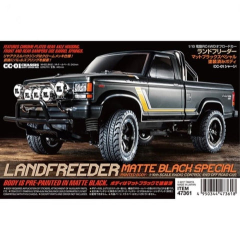 TAMIYA 1:10 Scale R/C Landfreeder 4WD Off Road Car Kit CC-01 Chassis (76-47361)