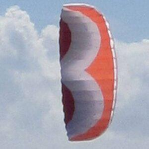 WINDSPEED Calibre' Powerfoil Dual Control Stunt Kite