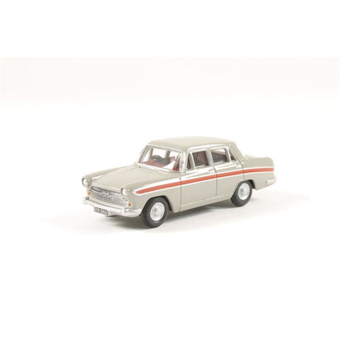 OXFORD 1/76 Austin Cambridge Armadillo BeigeRed - Hearns Hobbies Melbourne - Oxford