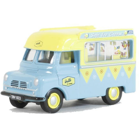 OXFORD 1/76 Bedford CA Ice Cream Walls - Hearns Hobbies Melbourne - Oxford