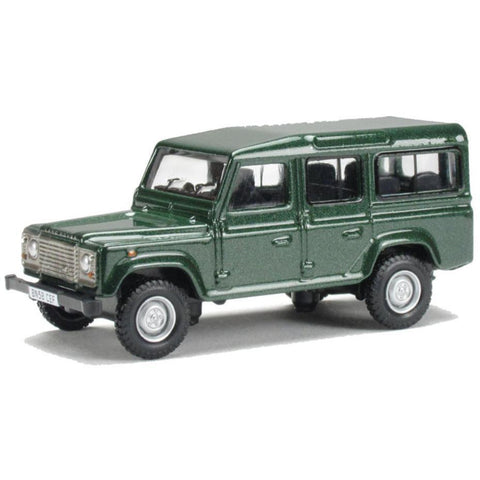OXFORD 1/76 Land Rover Defender (Green) - Hearns Hobbies Melbourne - Oxford