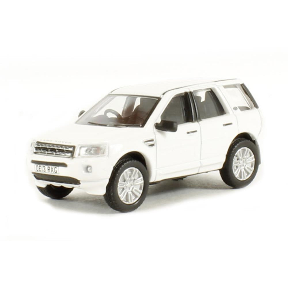 OXFORD 1/76 L/Rover Freelander Fuji White - Hearns Hobbies Melbourne - Oxford