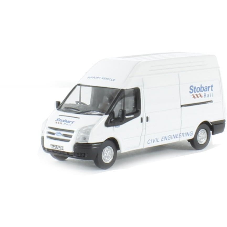 OXFORD 1/76 Ford Transit LWB High Roof Stobart - Hearns Hobbies Melbourne - Oxford