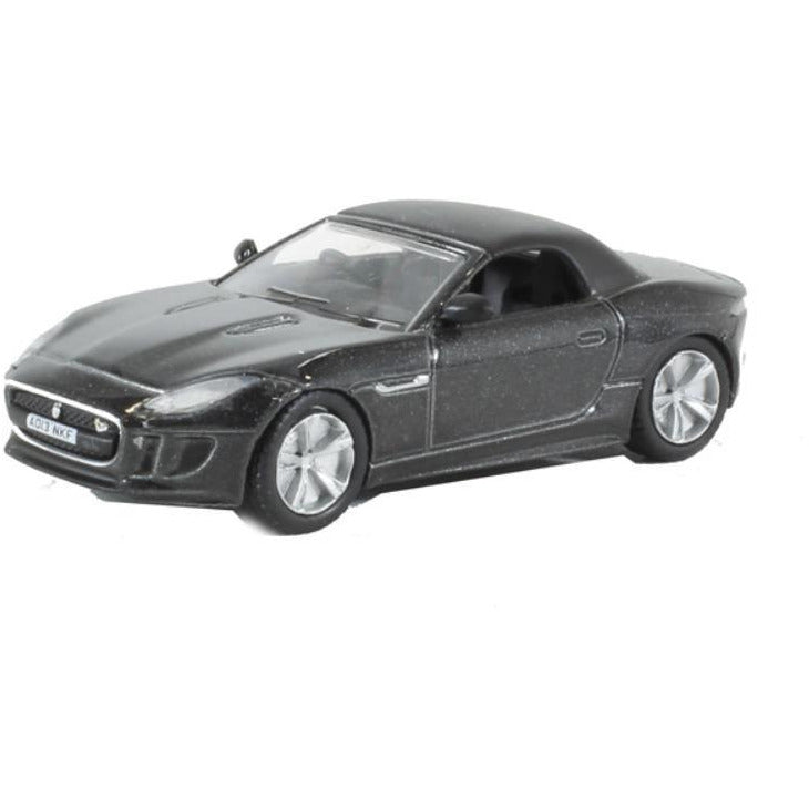 OXFORD 1/76 Jaguar F Type Stratus Grey - Hearns Hobbies Melbourne - Oxford