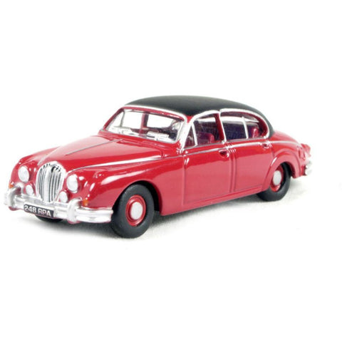 OXFORD 1/76 Jaguar MkII    (Regency Red) - Hearns Hobbies Melbourne - Oxford