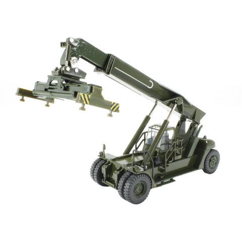 OXFORD 1/76 Konecranes Reach Stacker NATO Green - Hearns Hobbies Melbourne - Oxford