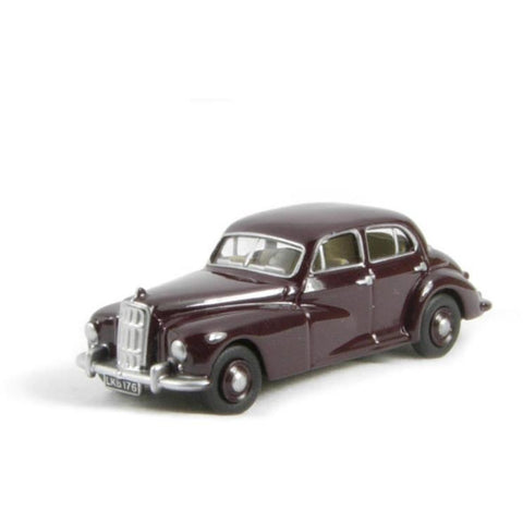 OXFORD 1/76 Morris Six      - Maroon - Hearns Hobbies Melbourne - Oxford