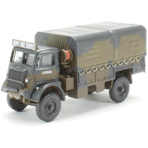 OXFORD 1/76 Bedford QLD Army Fire Service - Hearns Hobbies Melbourne - Oxford