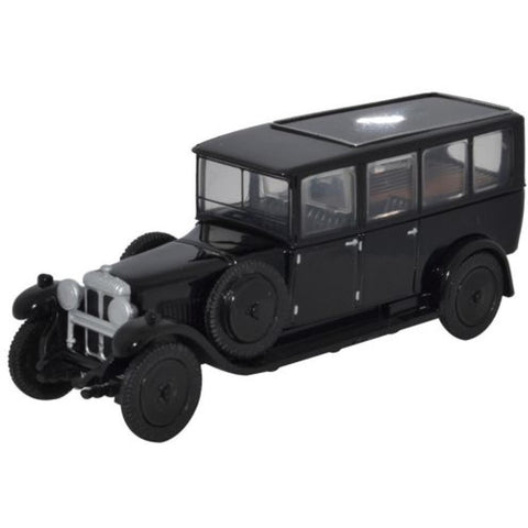 OXFORD 1/76 Daimler Hearse (Black) - Hearns Hobbies Melbourne - Oxford