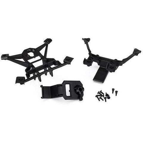 Image of TRAXXAS BODY MOUNTS, FRONT & REAR (7715)