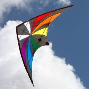 WINDSPEED Backdraft High Performance Dual Control Stunt Kite