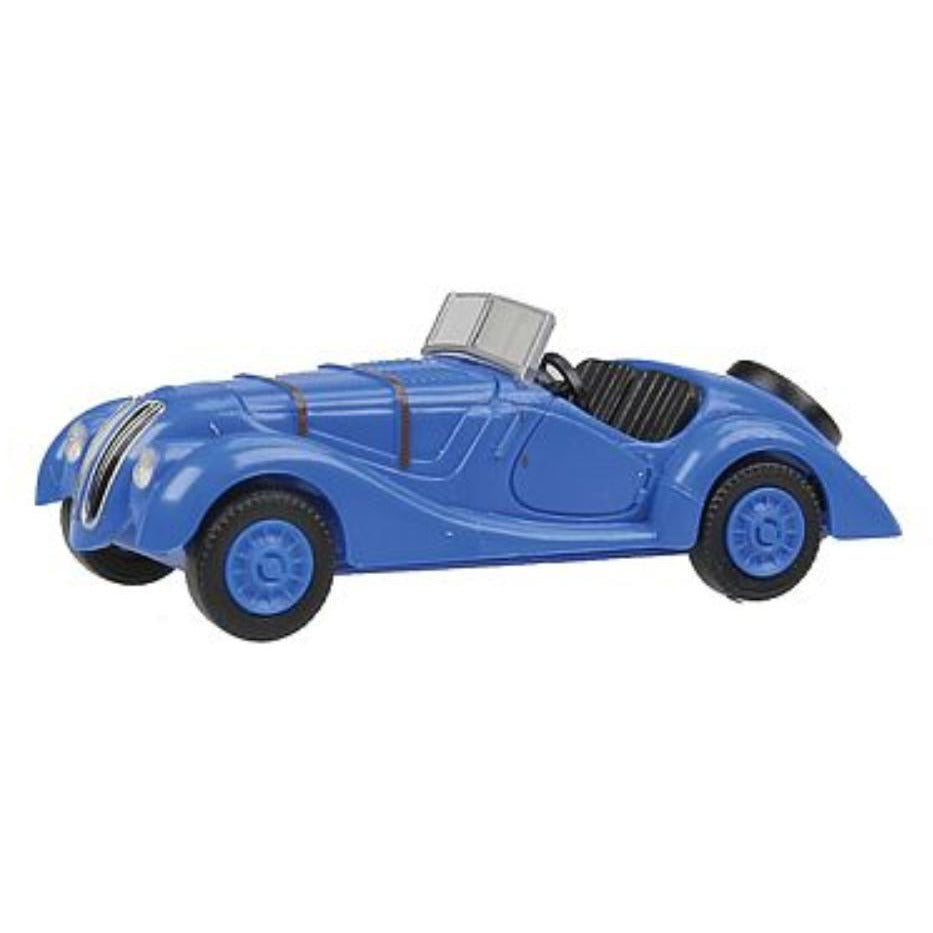 WIKING BMW 328 Cnvrtbl TpDw Blu - Hearns Hobbies Melbourne - WIKING