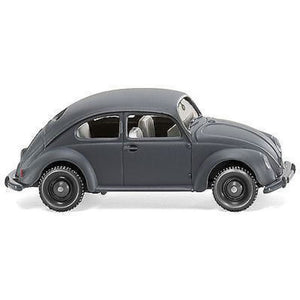 WIKING VW Beetle Matte Gry - Hearns Hobbies Melbourne - WIKING