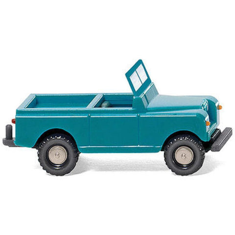 WIKING Land Rover turquoise/crm - Hearns Hobbies Melbourne - WIKING