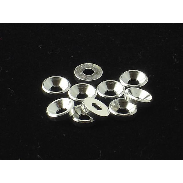 3mm Alloy Countersunk Washer  [Silver]