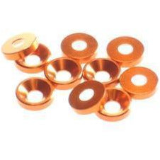 HIRO SEIKO 3mm Alloy Countersunk Washer[Orange]