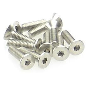 HIRO SEIKO Hex Socket Flat Head Screw M3x18