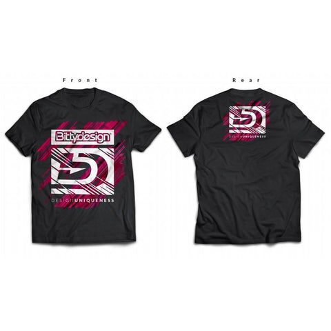 BITTYDESIGN T-shirt 2017-18 Season V4 Black (BDTS-V41718-B)