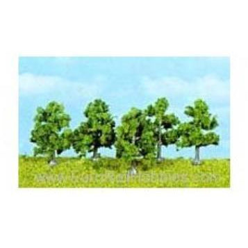 HEKI 5 APPLE TREES D/GREEN 4cm