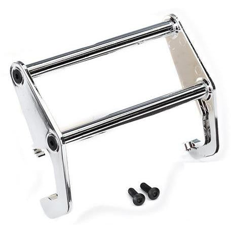 Image of TRAXXAS Push Bar, Bumper (Chrome) (Fits #8069) (8066)