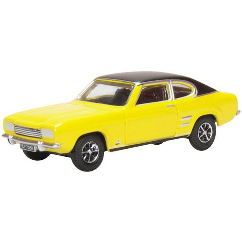 FORD CAPRI MK1 MAIZE YELLOW