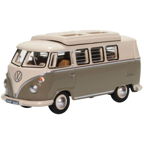 OXFORD VW T1 KOMBI CAMPER GREY / PEARL WHITE