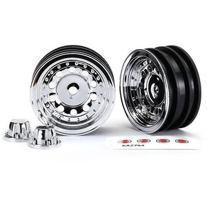 TRAXXAS Wheels, 1.9', Chrome (2)/ Centre Caps (2) (8175)