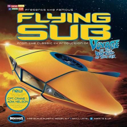 MOEBIUS 817 1/32 VTTBS Flying Sub, revised Plastic Model Ki