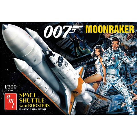 AMT 1/200 Moonraker Shuttle w/Boosters James Bond Plastic Kit