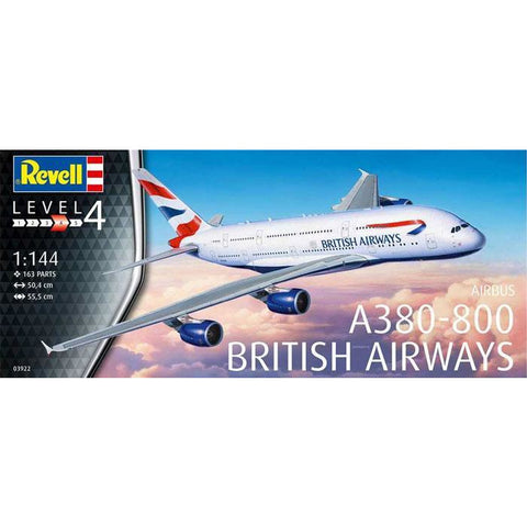 REVELL 1/144 A380-800 British Airways