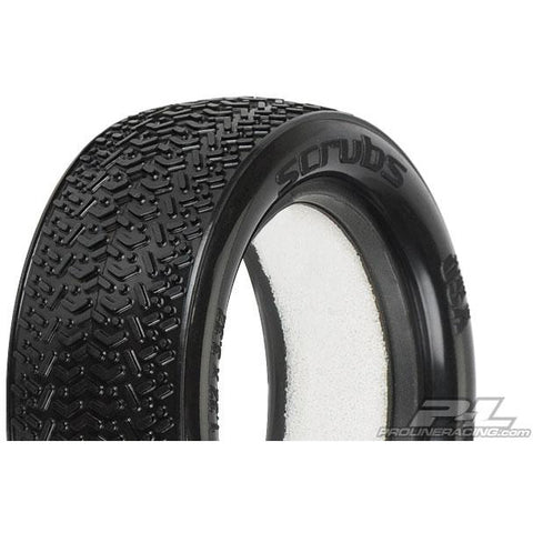 "Image of PROLINE Scrubs 2.2"" 4Wd X2 (Med) Off-Road Buggy Front Tires"