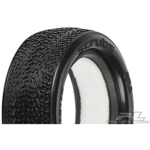 "PROLINE Scrubs 2.2"" 4Wd X2 (Med) Off-Road Buggy Front Tires"