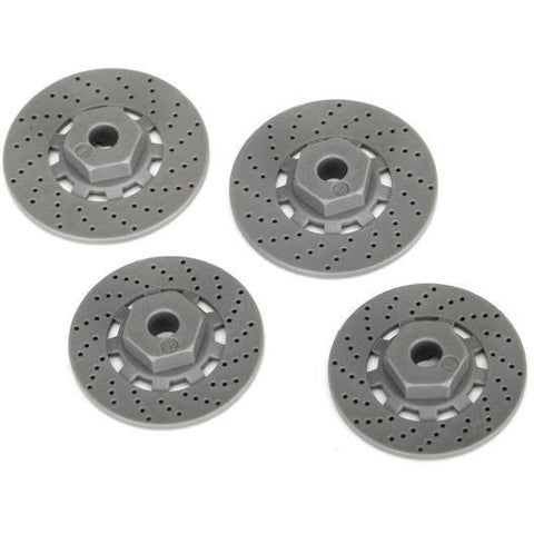 Image of TRAXXAS WHEEL HUBS, HEX (4) (8356)