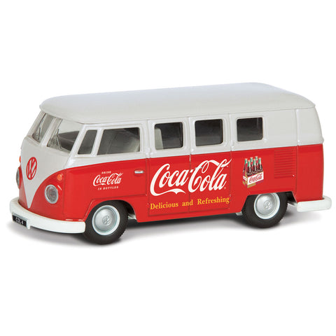 CORGI COCA COLA EARLY 1960'S VW CAMPER 1:43