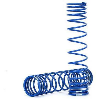 Image of TRAXXAS Spring, Shock, Rear (Blue) (GTR) (8445A)