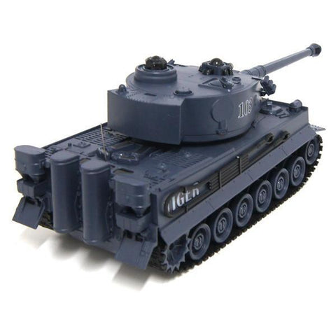 ZEGAN Tank Vs Bunker Tiger RC 1/16th