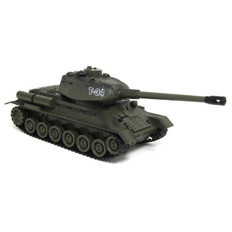 Zegan Tank Vs Bunker T34 R/C 1/16th